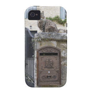Letter Box and Cat on the Wall, Lot et Garonne, iPhone 4 Case