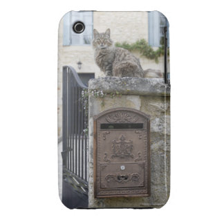 Letter Box and Cat on the Wall, Lot et Garonne, iPhone 3 Covers