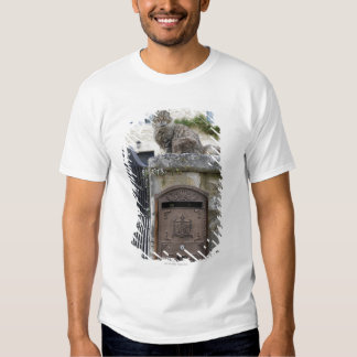 Letter Box and Cat on the Wall, Lot et Garonne, T-Shirt