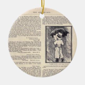 Letter Box Ornament