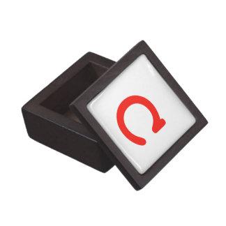 Letter c gift box