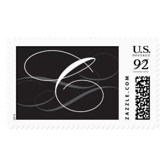 Letter C monogram Postage