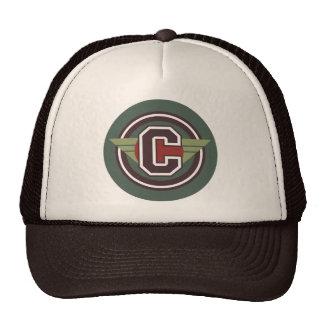 """Letter """"C"""" Monogram Trucker Hat"""