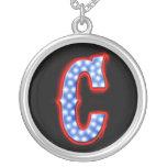 "Letter ""C"" Neon Light Monogram Custom Jewelry"