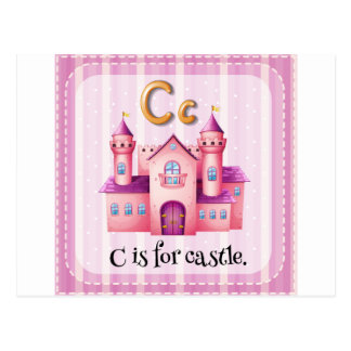 Letter C Postcard