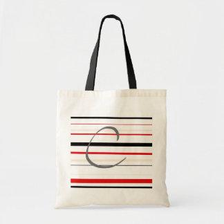 """Letter """"C"""" Tote Bag"""