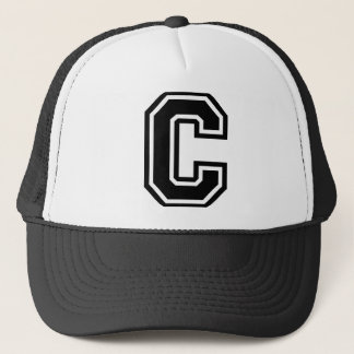 """Letter """"C"""" Trucker Hat"""