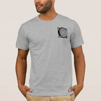 Letter C Vintage Celtic Knot Monogram T-Shirt
