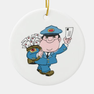 Letter Carrier Christmas Ornaments