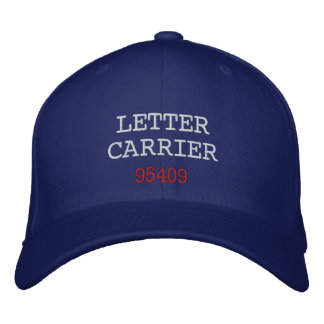 LETTER CARRIER, Hat Embroidered Hats