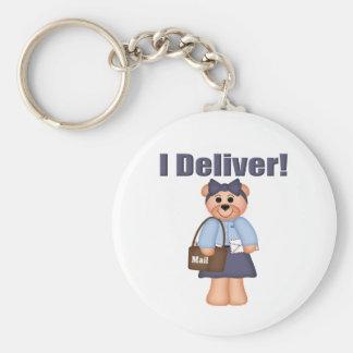 Letter Carrier Keychain