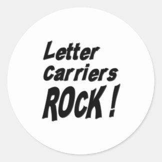 Letter Carriers Rock! Sticker