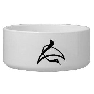 Letter crane of length bowl