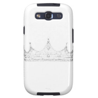 letter crown galaxy SIII case