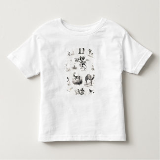 Letter D from an alphabet primer, 1832 Toddler T-shirt