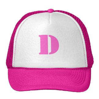 Letter D Hat