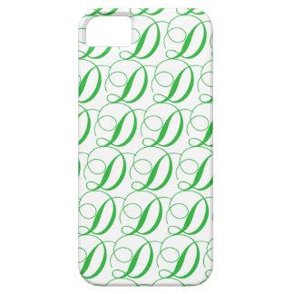 Letter D iPhone 5 Cases