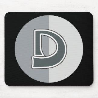 Letter D Mouse Pad