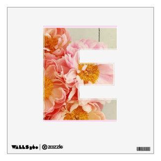 "Letter ""E"" Wall Skin"
