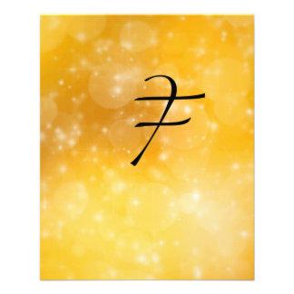 "Letter F 4.5"" X 5.6"" Flyer"