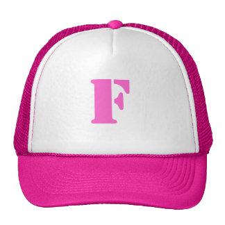 Letter F Hat