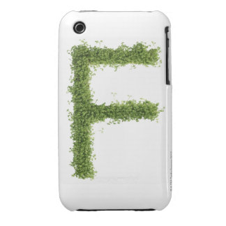 Letter 'F' in cress on white background, iPhone 3 Case-Mate Cases