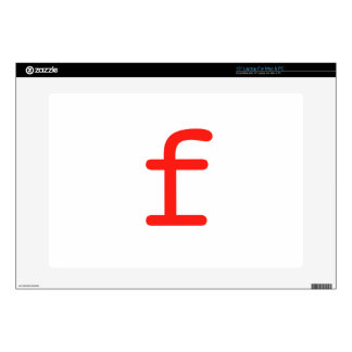 Letter f laptop decals