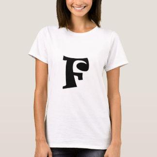 Letter F_large T-Shirt