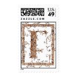 letter F monogram Postage Stamps