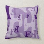 letter F Pillow