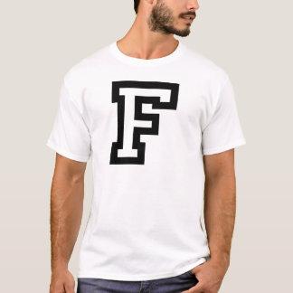 Letter F T-Shirt