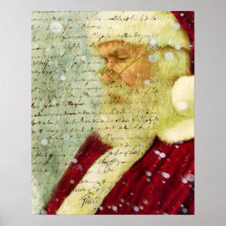 Letter for Santa Poster