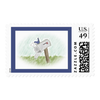Letter from a Bluebird Postage Stamp