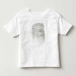 Letter from George Frederick Handel T-shirts