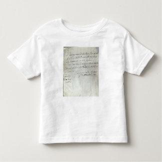 Letter from George Frederick Handel Tshirt