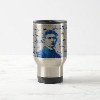 Letter From Kafka 15 Oz Stainless Steel Travel Mug