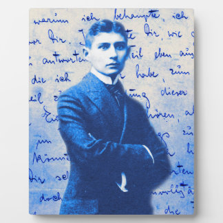 Letter From Kafka Display Plaque