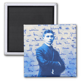 Letter From Kafka 2 Inch Square Magnet