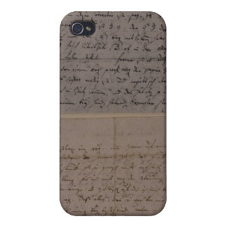 Letter from Leopold Mozart iPhone 4 Case