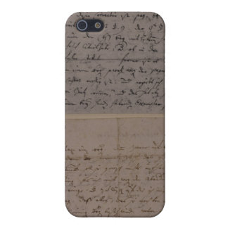 Letter from Leopold Mozart iPhone SE/5/5s Case