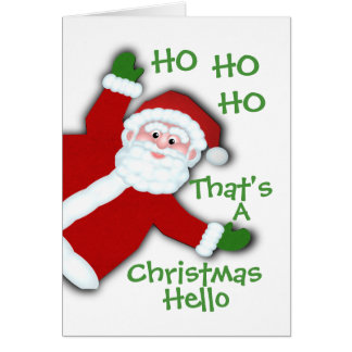Letter from Santa Card