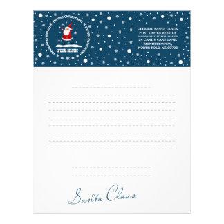 Letter from Santa Claus. Custom Letterheads Letterhead