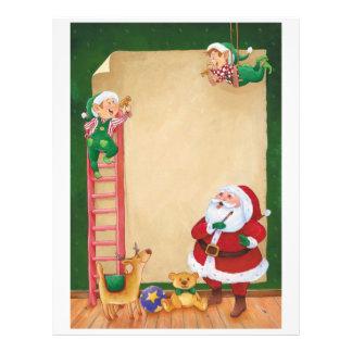 Letter From Santa: Helper Elves Letterhead