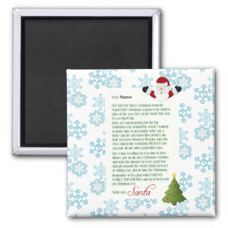 Letter from Santa Magnet