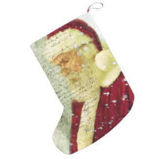 Letter From Santa Small Christmas Stocking