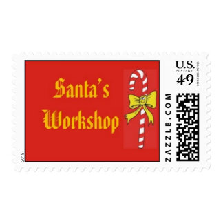 Letter from Santa Stamp