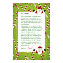 Letter from Santa Stationery