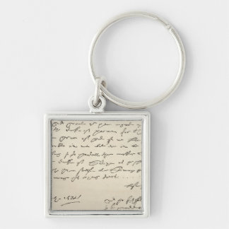 Letter from Sir Francis Drake Keychain