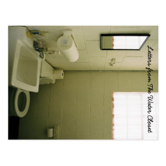 Letter from The Water Closet Postcard 1
