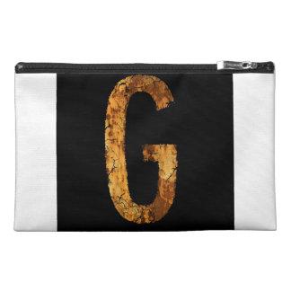 Letter G Travel Accessory Bag